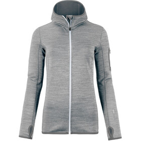 Ortovox Fleece Melange Hoody Dame grey blend